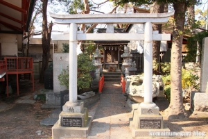 六所神社(世田谷区野毛)12