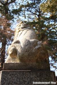 六所神社(世田谷区野毛)25