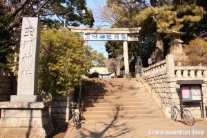 玉川神社(世田谷区等々力)1