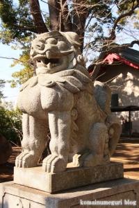 玉川神社(世田谷区等々力)5