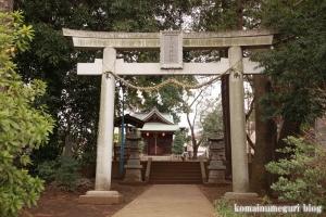 宇山稲荷神社(世田谷区桜丘)3