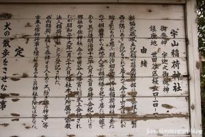 宇山稲荷神社(世田谷区桜丘)5