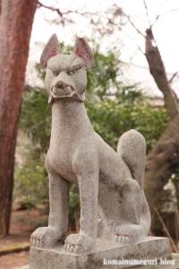 宇山稲荷神社(世田谷区桜丘)6