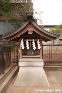 宇山稲荷神社(世田谷区桜丘)17