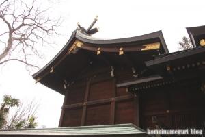 氷川神社(世田谷区大蔵)10