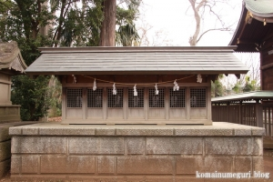氷川神社(世田谷区大蔵)11