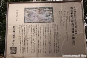 氷川神社(世田谷区大蔵)14