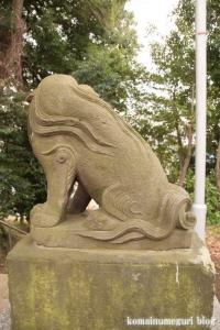 氷川神社(世田谷区大蔵)23