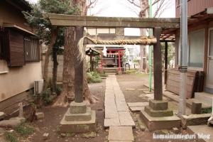 稲荷神社(世田谷区喜多見)4