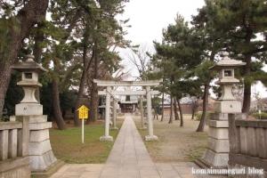 宇奈根氷川神社(世田谷区宇奈根)1