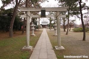 宇奈根氷川神社(世田谷区宇奈根)5