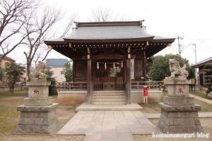 宇奈根氷川神社(世田谷区宇奈根)10
