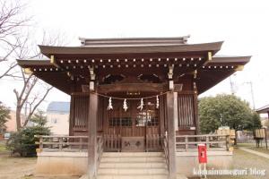 宇奈根氷川神社(世田谷区宇奈根)13