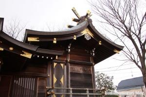宇奈根氷川神社(世田谷区宇奈根)16