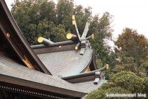喜多見氷川神社(世田谷区喜多見)20