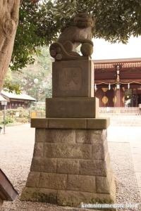 喜多見氷川神社(世田谷区喜多見)45