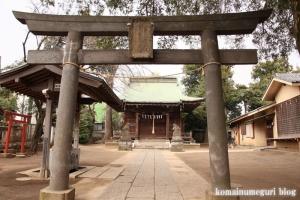 八幡神社(狛江市岩戸南)4