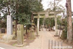 伊豆美神社(狛江市中和泉)1