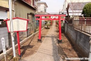 柳久保稲荷神社(狛江市中和泉)1