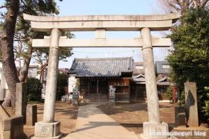 子之権現三島神社(狛江市西野川)1