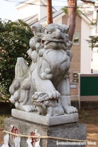 子之権現三島神社(狛江市西野川)5
