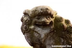 白山神社(羽生市上新郷)22