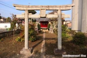 御蔵場稲荷神社(羽生市上新郷)2