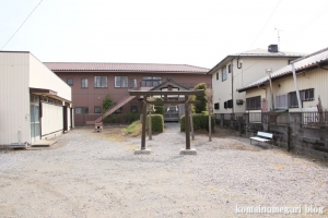 白山神社(羽生市下新郷)1