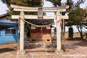 八幡神社(羽生市加羽ケ崎)2