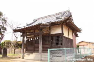 稲荷神社(羽生市下岩瀬)5
