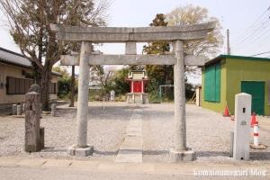 稲荷神社(羽生市中岩瀬)2