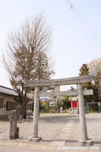 稲荷神社(羽生市中岩瀬)1