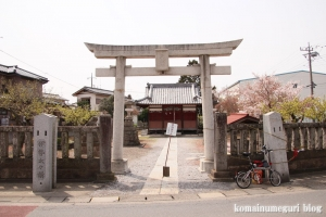 天神社(羽生市上新郷)1
