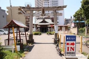 八幡神社(越谷市越ケ谷)1