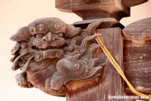 八幡神社(越谷市越ケ谷)13