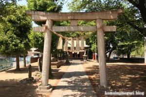 稲荷神社(越谷市瓦曽根)2
