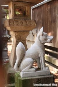 稲荷神社(越谷市瓦曽根)12