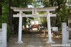 大相模久伊豆神社(越谷市大成町)2