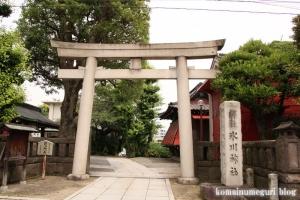 元麻布氷川神社(港区元麻布)1