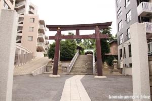 白銀氷川神社(港区白銀)1