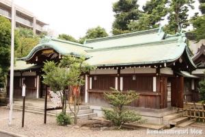 白銀氷川神社(港区白銀)8