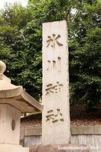 白銀氷川神社(港区白銀)3