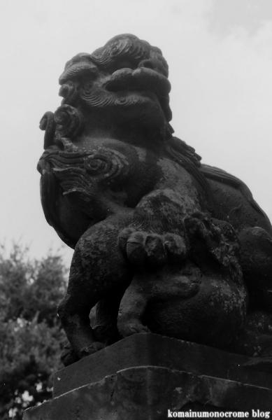 八幡宮(川崎市中原区上平間)2
