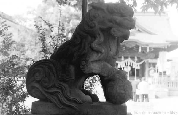 溝口神社(川崎市高津区下溝口)3