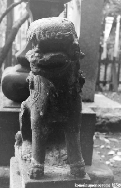 白旗神社(鎌倉市西御門)4