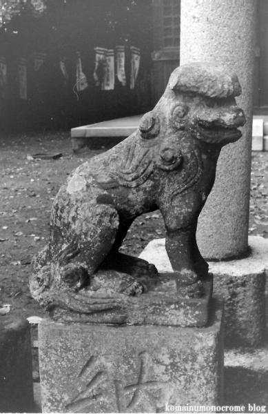 白旗神社(鎌倉市西御門)3