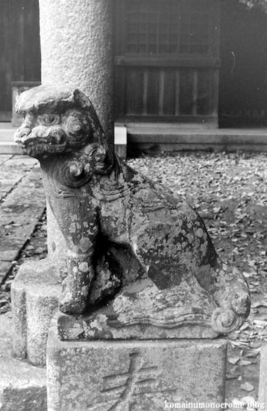白旗神社(鎌倉市西御門)1