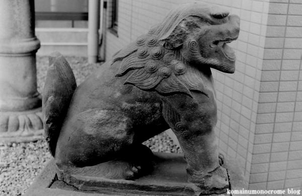 上目黒氷川神社(目黒区大橋)2