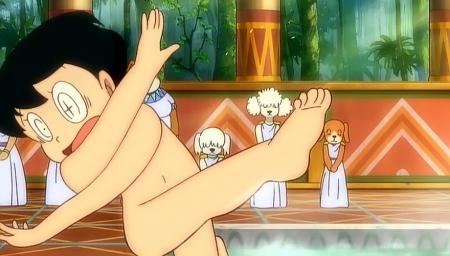 新・のび太の大魔境の全裸入浴シーン9