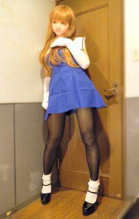 青ドレス06
